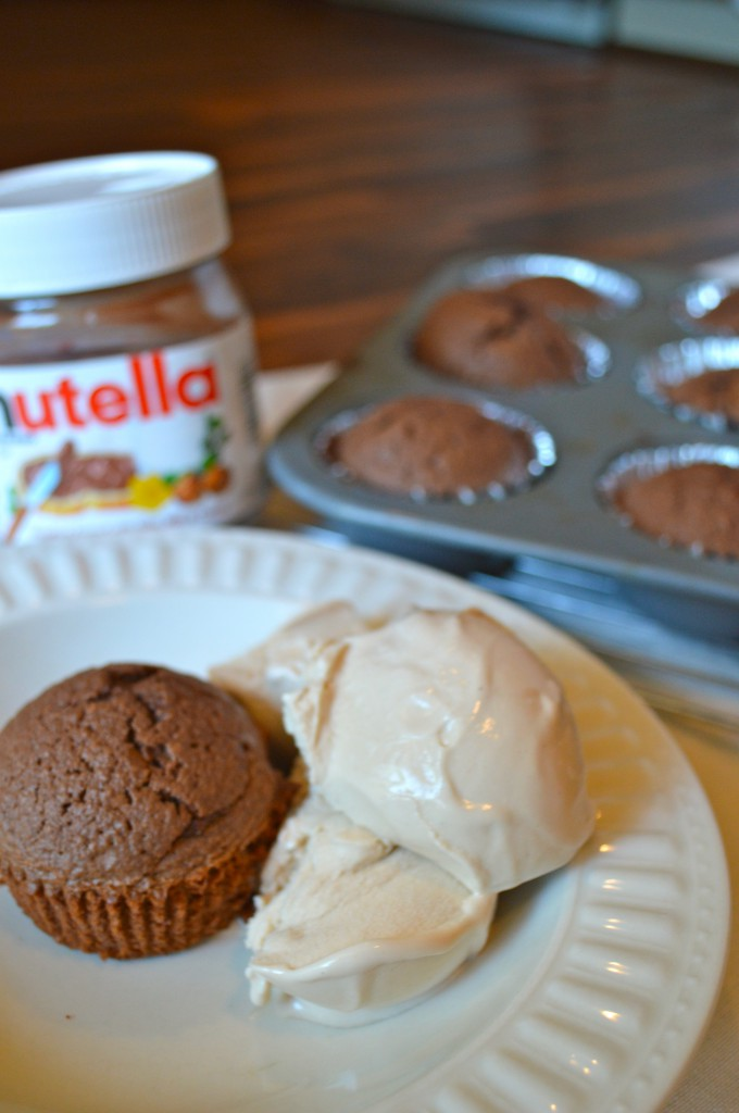Whole Wheat Nutella Brownie Muffins-My Life Well Loved