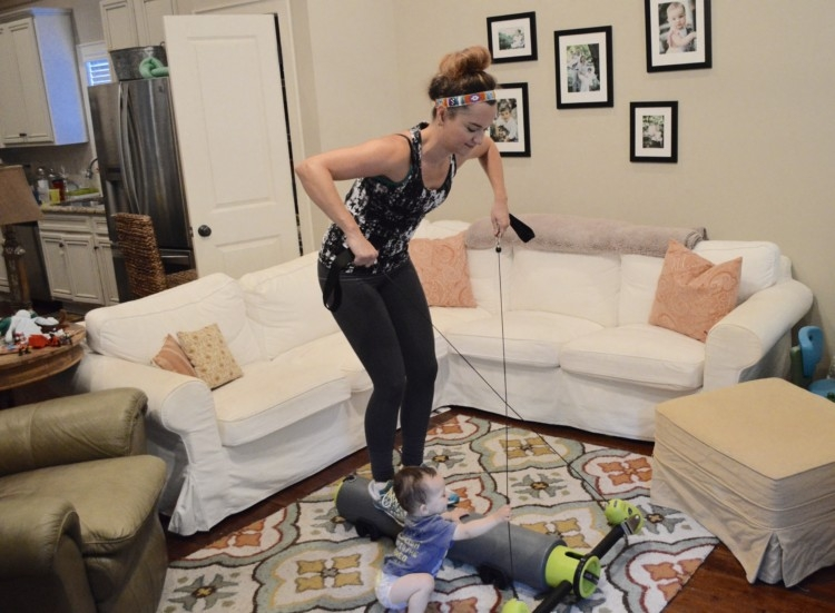 How to Workout from Home for Busy Moms with Heather Brown of My Life Well Loved