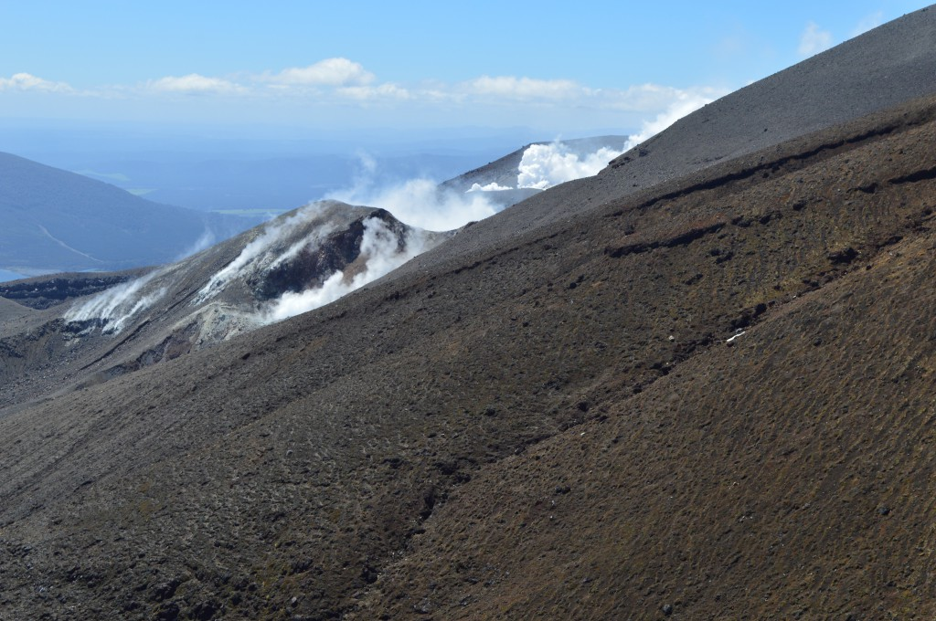 Thermal Activity on Tongariro Crossing