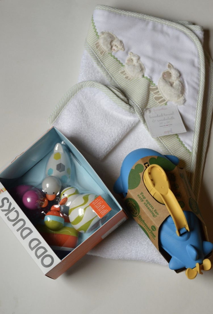 Bath Theme Baby Gift Ideas from Heather Brown of My Life Well Loved