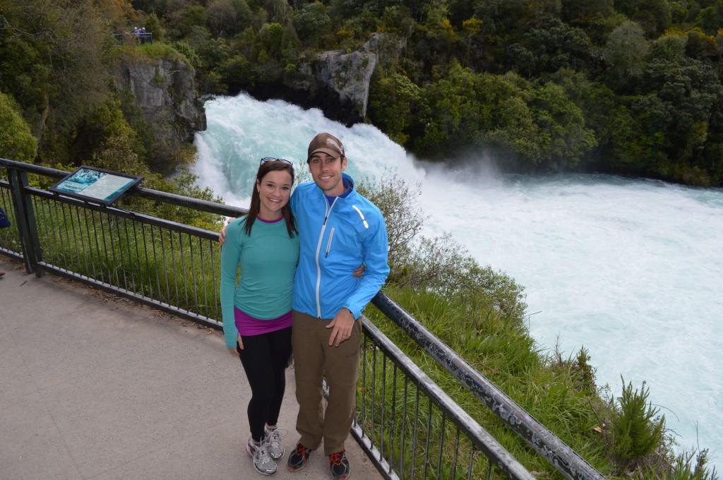 Huka Falls in New Zealand