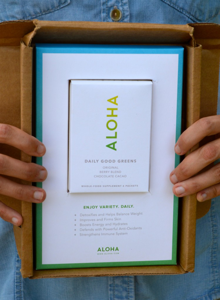 Aloha Daily Good Greens: Juicing in a Pouch