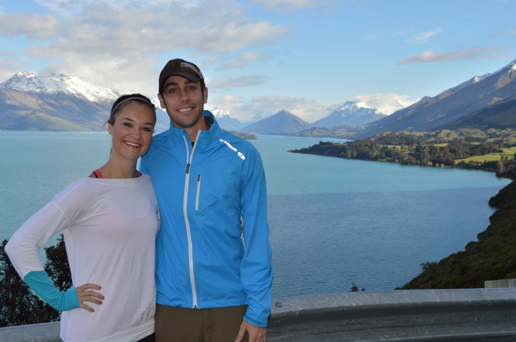 New Zealand Lake Eric and Heather