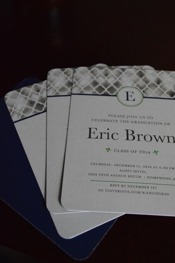 Tiny Prints Graduation Invitiations