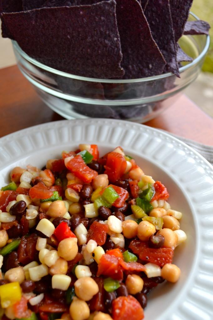 Fresh Bean Dip Appetizer