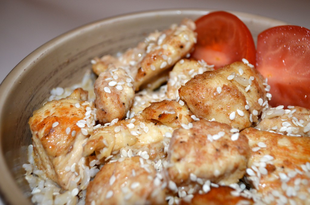 Lightened Up Sesame Chicken from My Life Well Loved