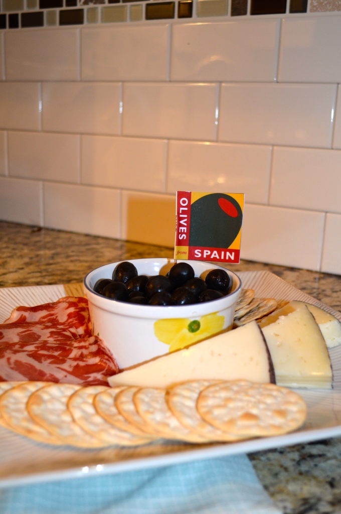 Olive and Cheese Tray