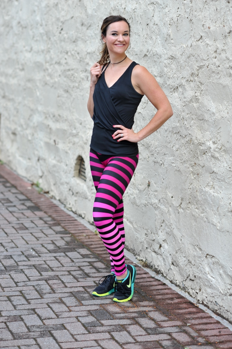What to Wear to Barre // Pure Barre / 30 Day Workout Challenge - Booty Challenge with Heather of MyLifeWellLoved.com - What to Wear to Barre Class by popular Alabama fitness blogger My Life Well Loved