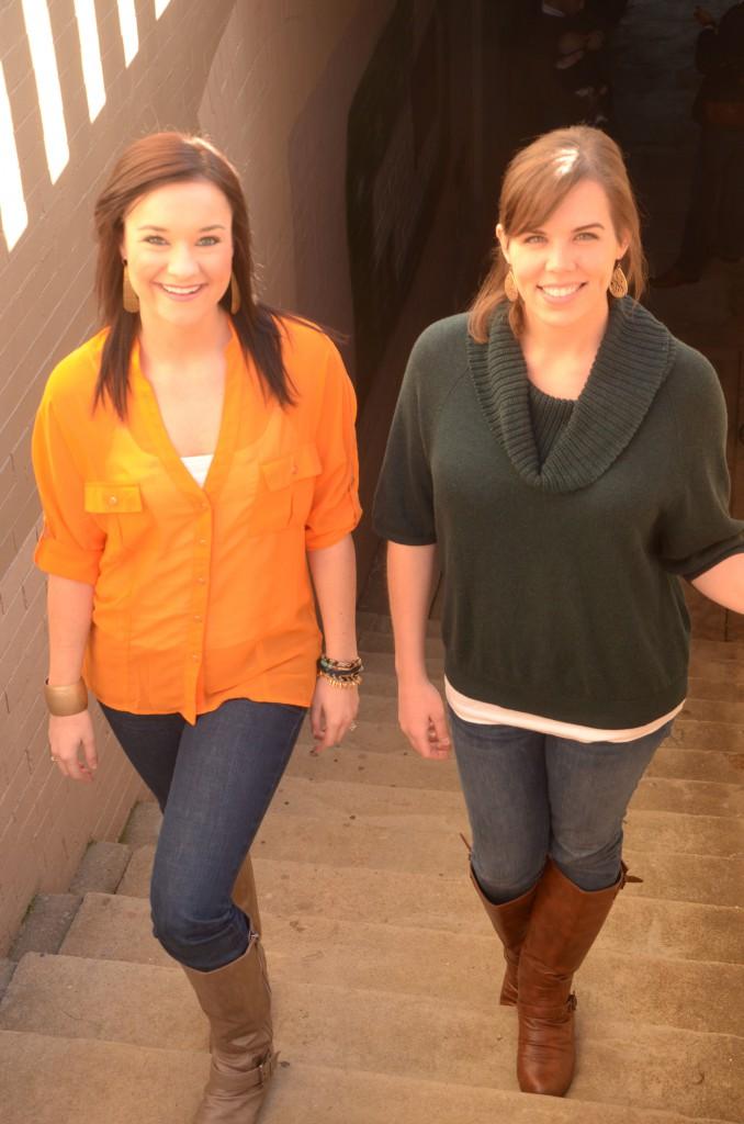 Jessica and Heather