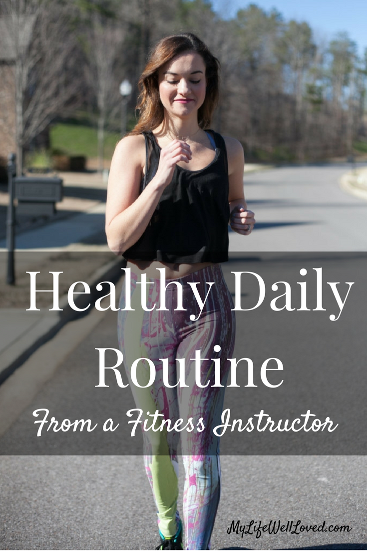 Athleisure Wear: Black Crop Top, abstract art leggings, healthy daily routine