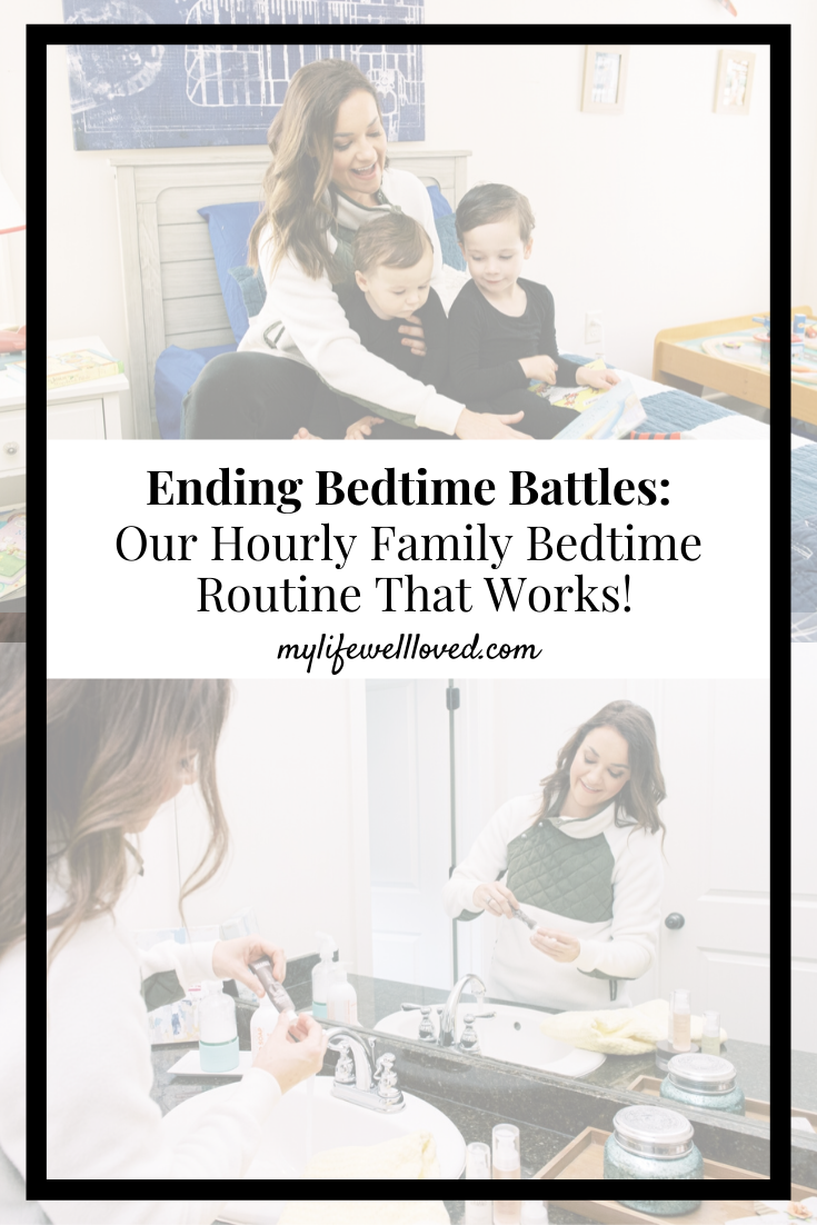 My Tips & Tricks For An Easy Bedtime Routine by Life + Style Blogger, Heather Brown // My Life Well Loved