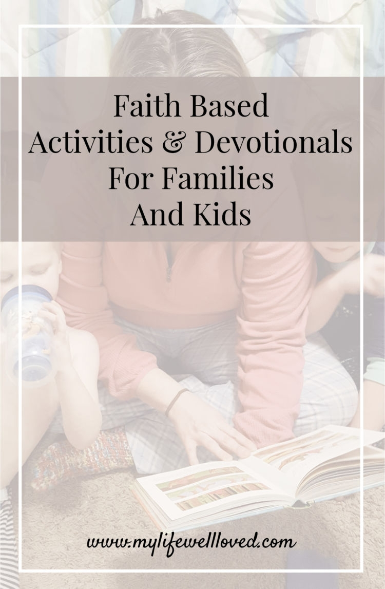 faith based activities and devotionals for families and kids by alabama blogger heather brown // bible // child devotionals //