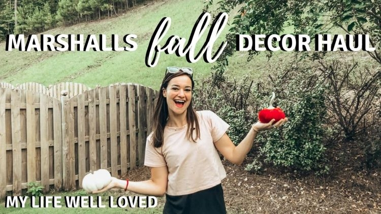 Marshalls Fall Decor Roundup To Get You In The Spirit Of Fall by Life + Style Blogger, Heather Brown // My Life Well Loved