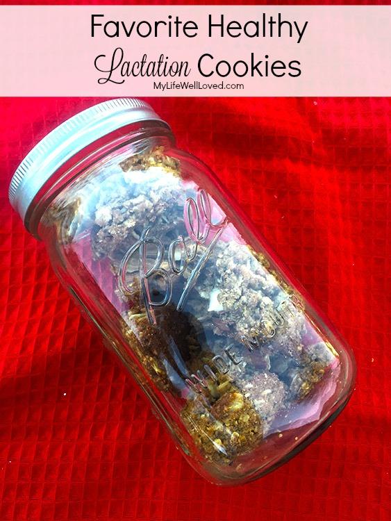 Favorite Healthy Lactation Cookies