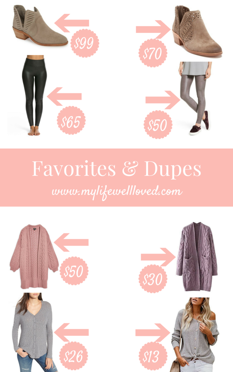 Nordstrom Anniversary Sale DUPES featured by popular Birmingham fashion blogger, My Life Well Loved