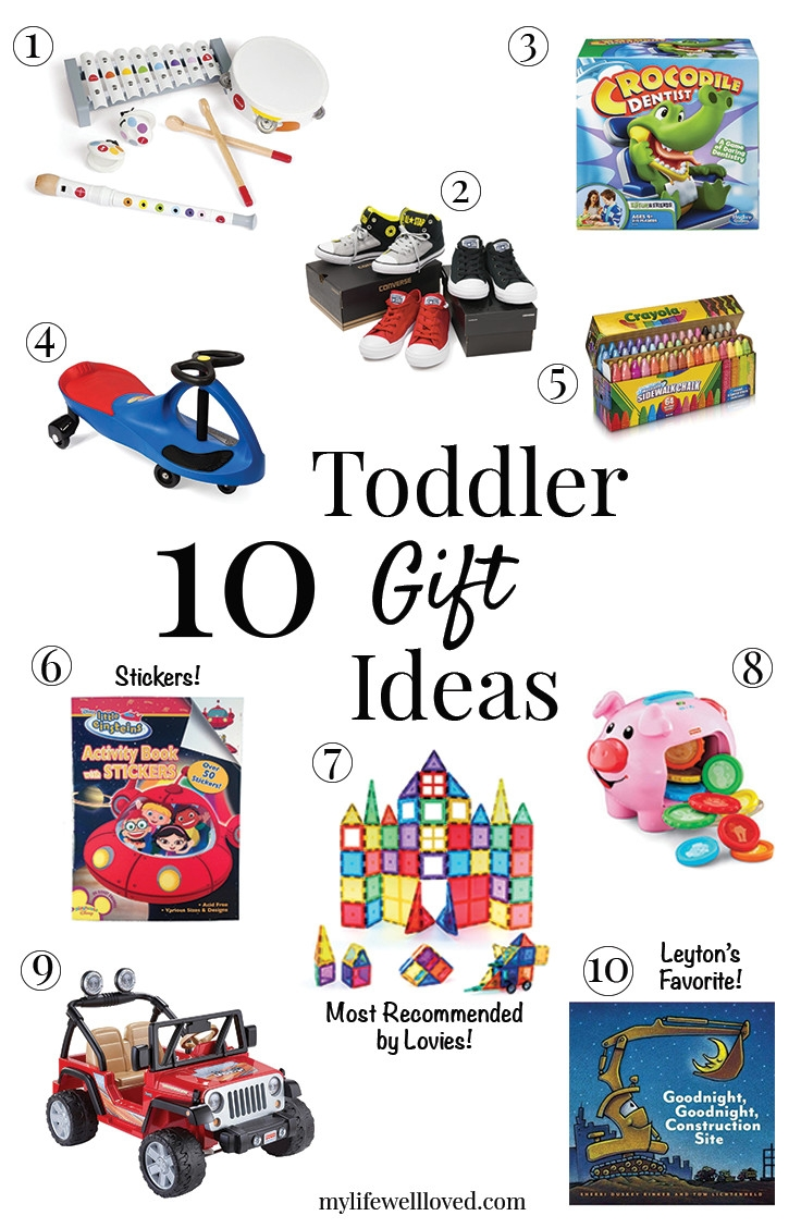 Little boy gifts | little girl gifts | 10 Toddler Gift Ideas from the Lovies! featured by top Birmingham lifestyle blog My Life Well Loved