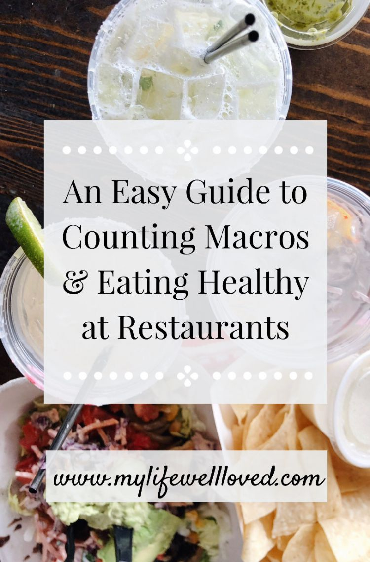 Sharing how easy it is to track macros on FWTFL while eating out by Heather Brown at My Life Well Loved // #trackingmacros #fasterwaytofatloss #fwtfl