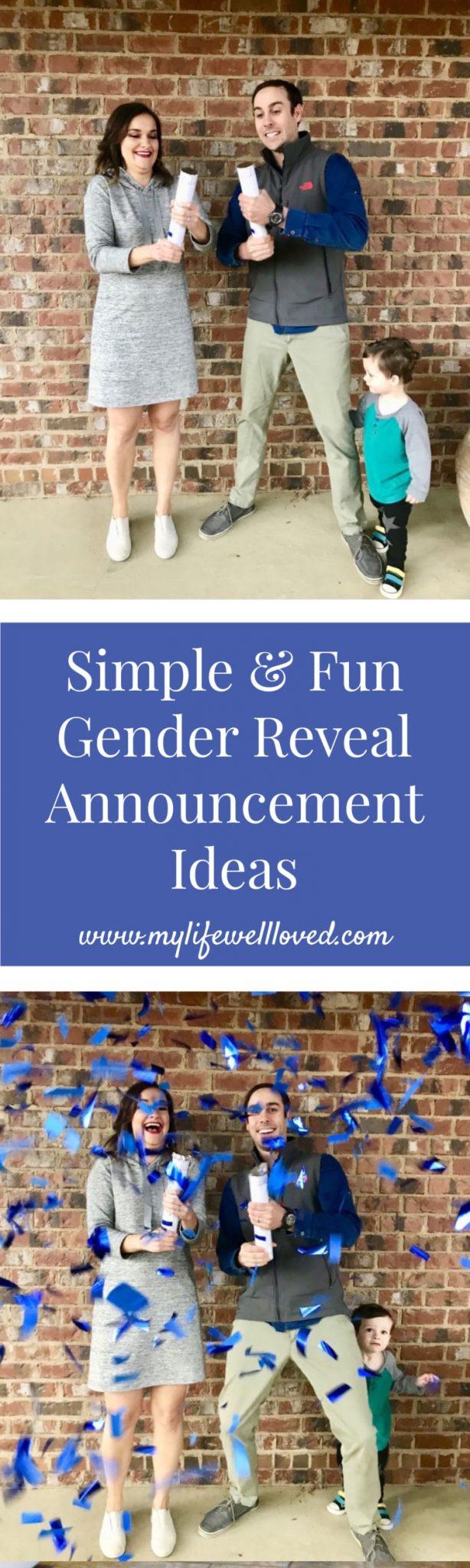 Gender Reveal from Alabama blogger Heather of MyLifeWellLoved.com // pregnancy update #genderreveal #babyboy