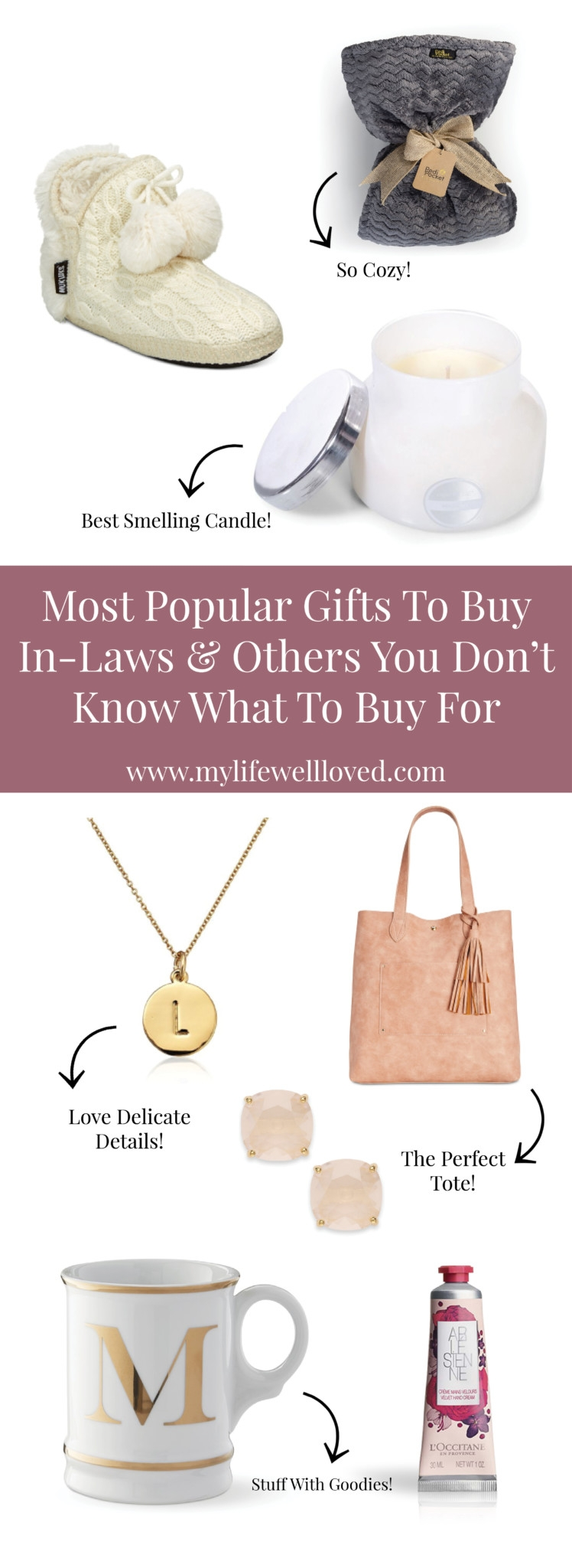 Most Popular Gifts to Buy In-Laws & Others You Dont KNow What to Buy For by alabama blogger heather brown // Best Christmas Gift Ideas featured by top Birmingham lifestyle blog My Life Well Loved