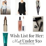 Birthday Wish List: Under $50