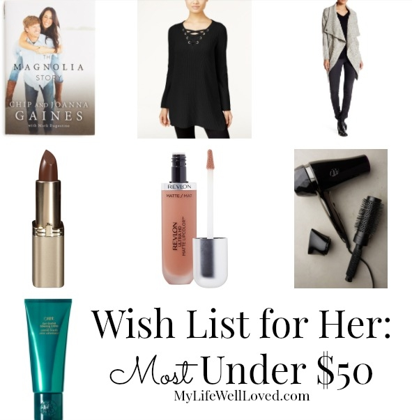 Womens Birthday Wish List Gift Ideas For Under 50 From Heather Brown Of My Life