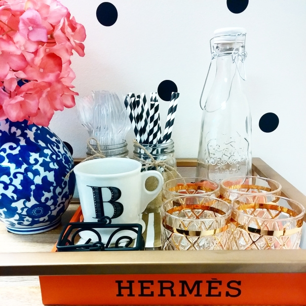 DIY Hermes Tray