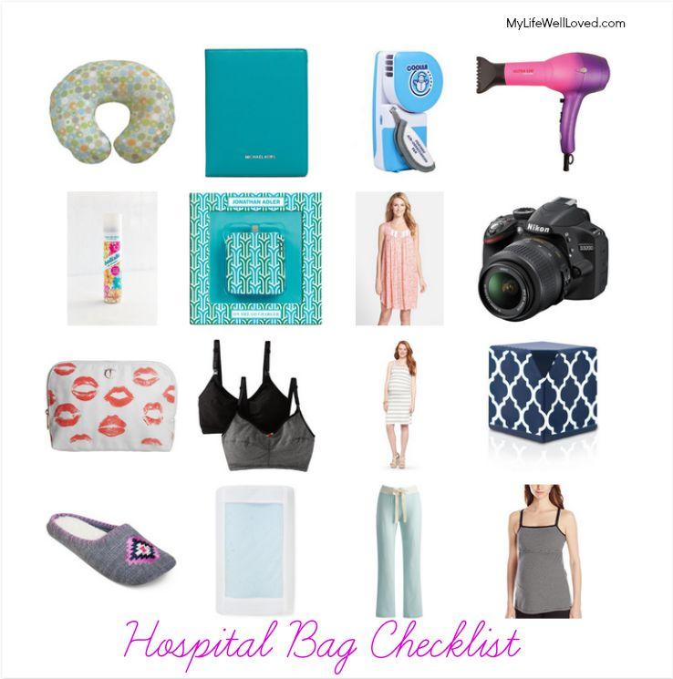 Hospital Bag Checklist for Pregnancy
