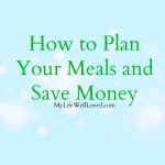 How I Plan My Meals
