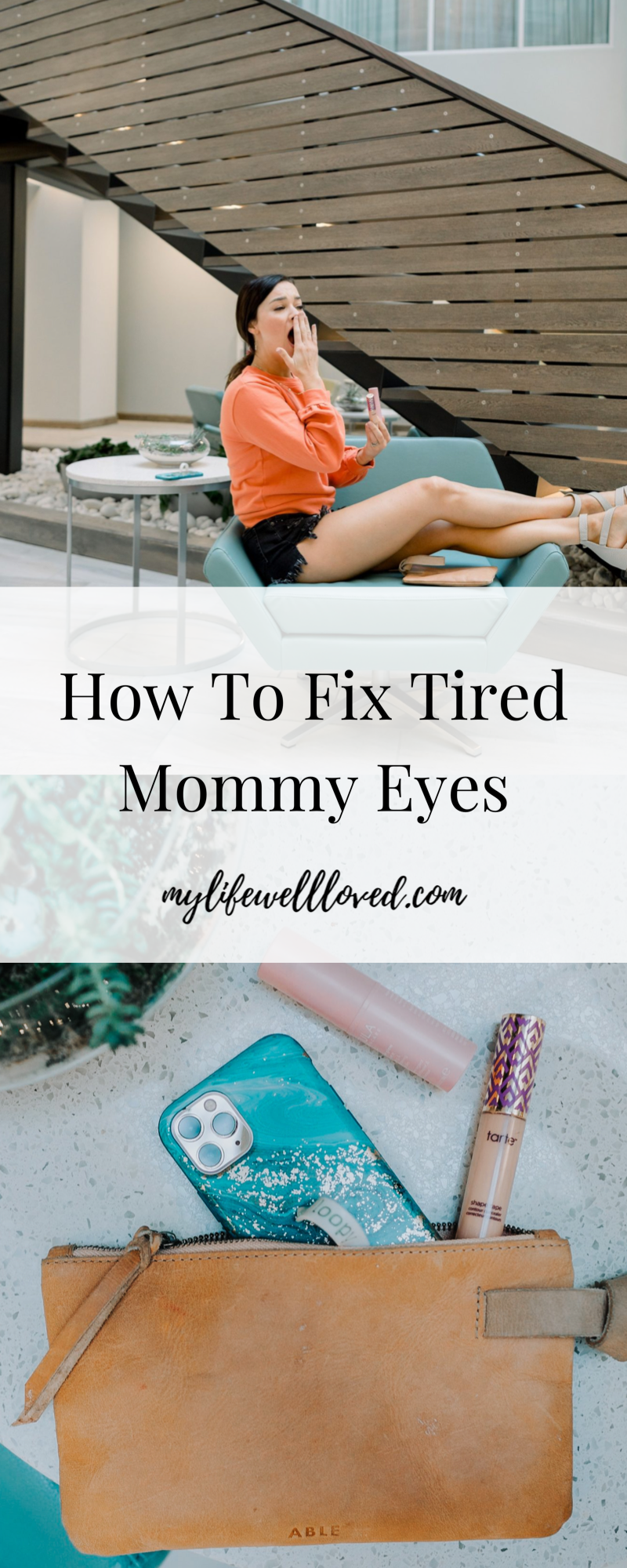 Quick Mom Hacks: How To Fix Tired Eyes by Alabama Life + Style Blogger, Heather Brown // My Life Well Loved