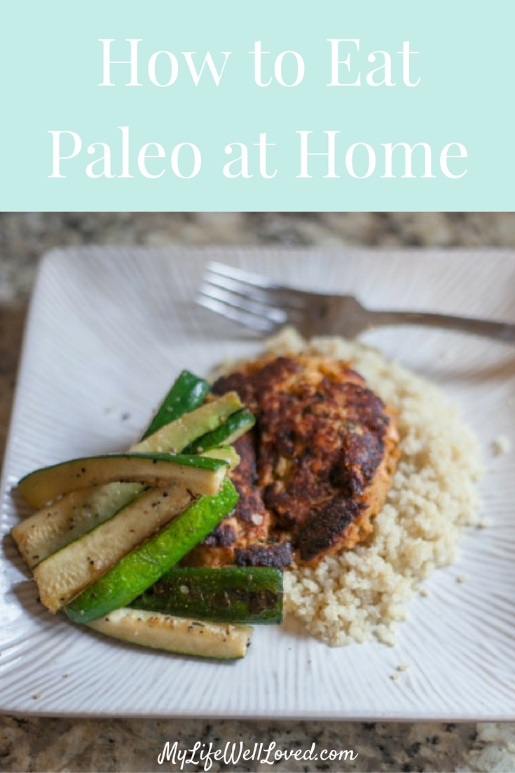Salmon Cake & Zucchini Recipe // 80Fresh Paleo Meals from Heather of MyLifeWellLoved.com // 80Fresh Meal Review // Paleo Meal Ideas