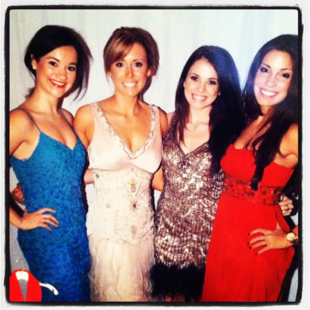 dressed up girls night