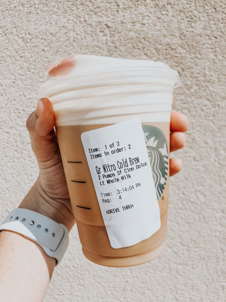 My Favorite Starbucks Fall Drinks With Macros by Life + Style Blogger, Heather Brown // My Life Well Loved
