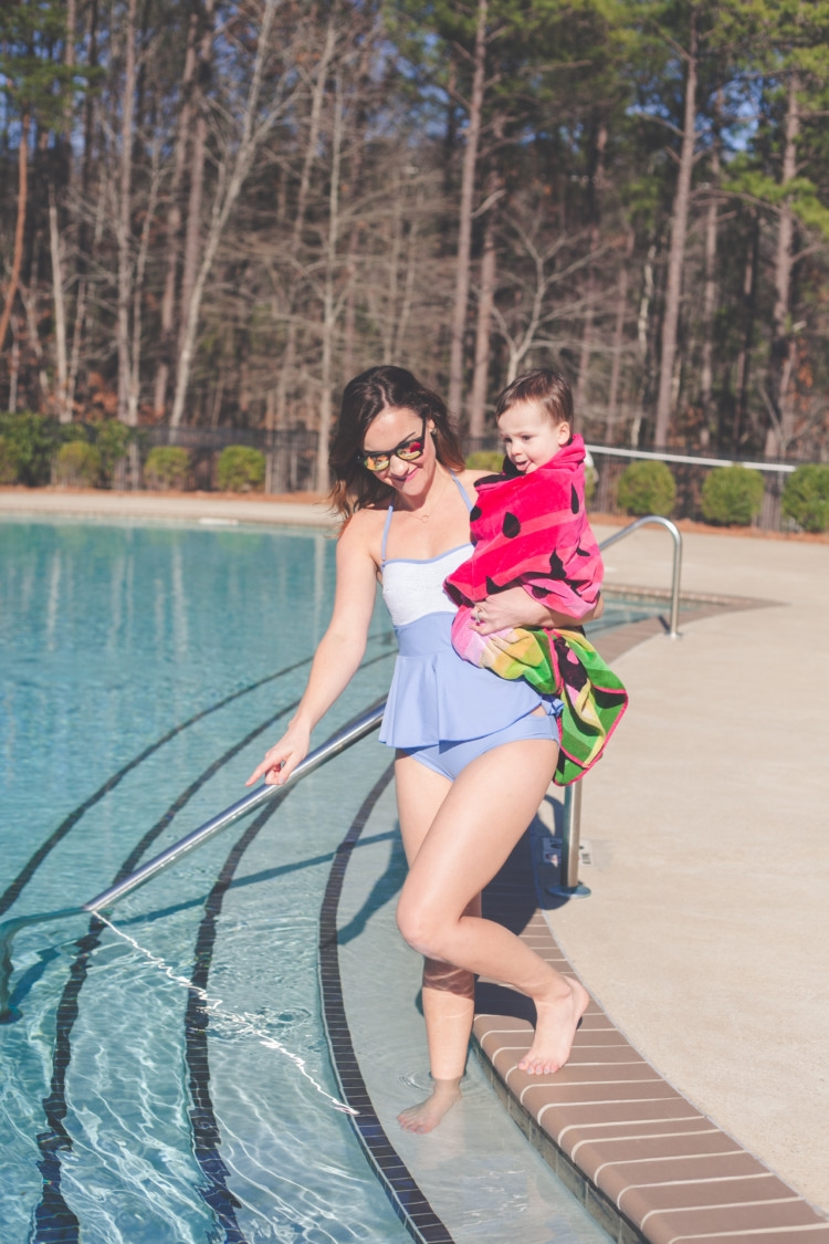 Mom-Friendly Bathing Suits from Heather of MyLifeWellLoved.com