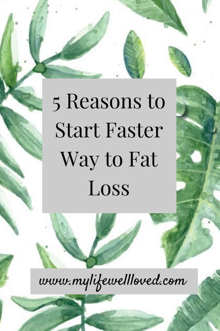 Sharing 5 reasons to start Faster Way To Fat Loss by Alabama lifestyle + fashion blogger My Life Well Loved // #fwtfl // #healthylifestyletips // #reasonswhy