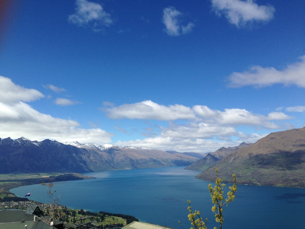 View from the Luge New Zealand