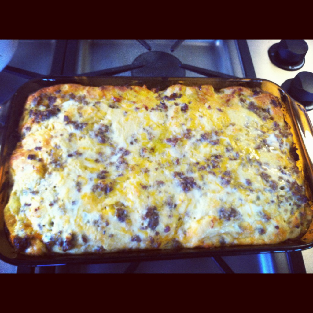 The Best Breakfast Casserole by AL blogger My Life Well Loved