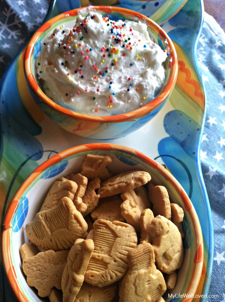 Light Funfetti Dip | My Life Well Loved