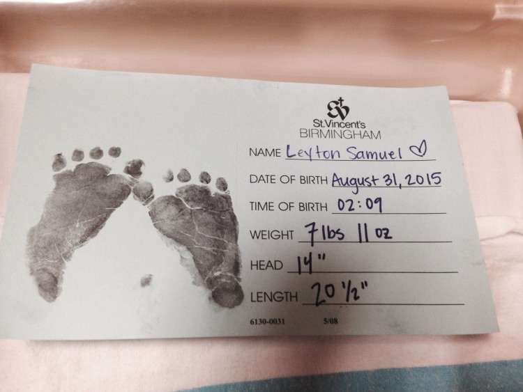Leyton's Birth Story: My Life Well Loved