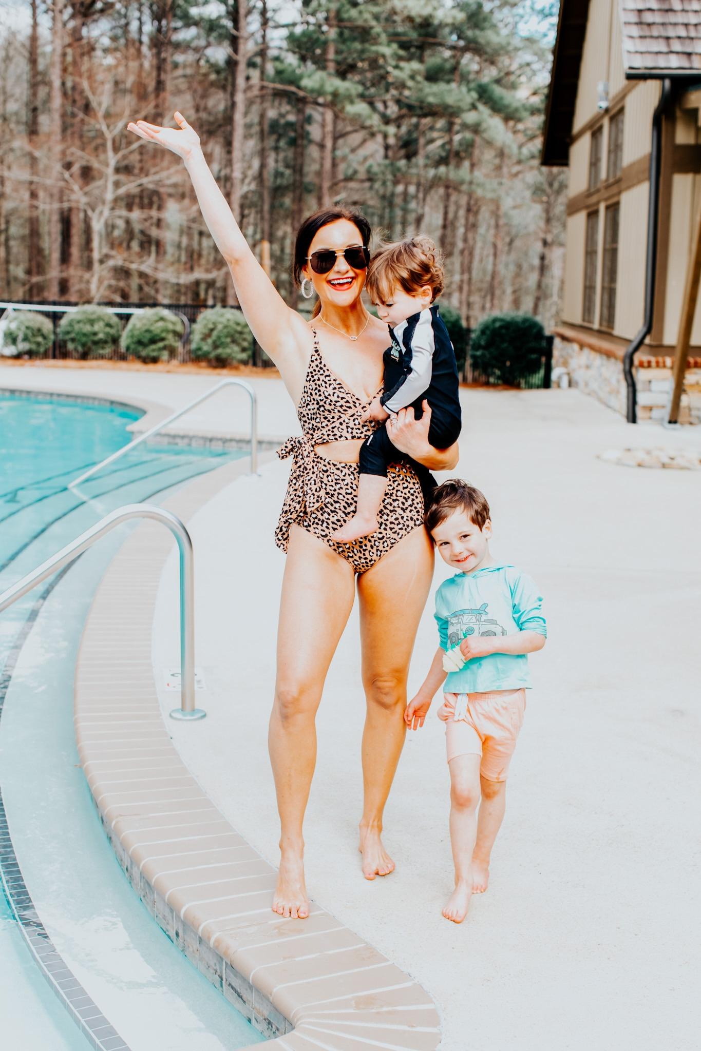 Aerie Swimsuits Try-On by Alabama Life + Style Blogger, Heather Brown // My Life Well Loved