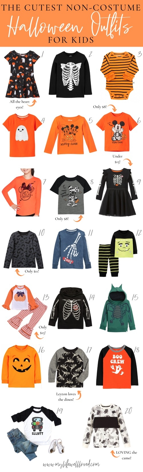 Halloween Outfits For Boys & Girls by Alabama Family + Style blogger, Heather Brown // My Life Well Loved