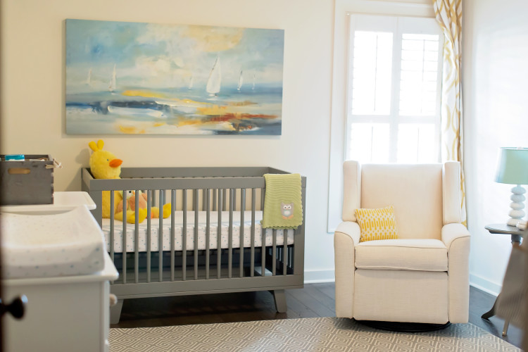 My Favorite Item in our Nursery: My Nursery Glider by Alabama lifestyle blogger Heather of My Life Well Loved