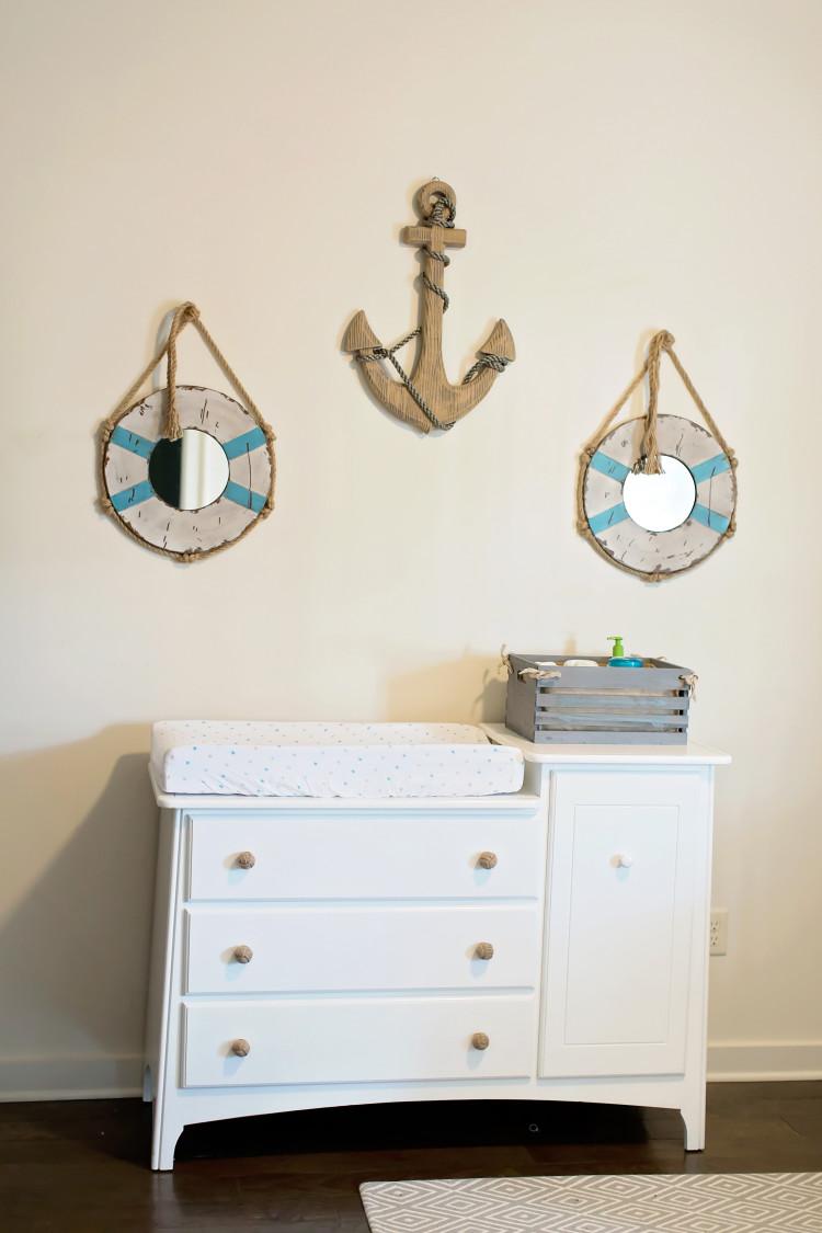 Nautical Nursery Decor