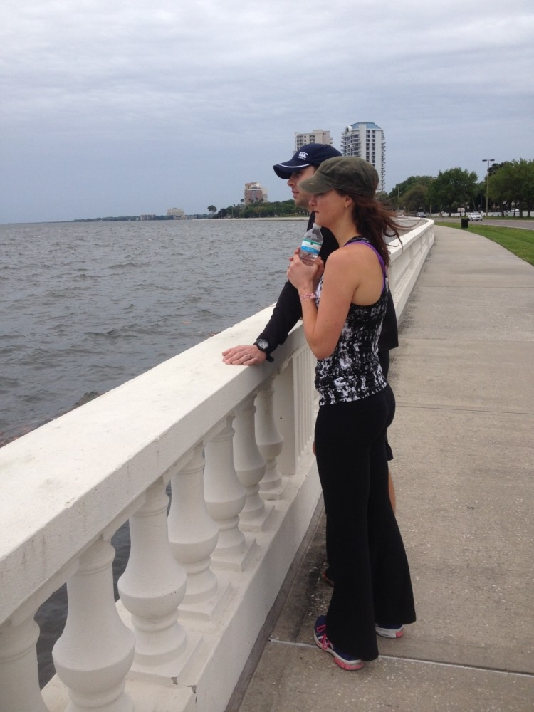 Things to see and do in Tampa Florida: The Oxford Exchange and many other must see sights + mom style floral romper from blogger Heather Brown of MyLifeWellLoved.com // The Oxford Exchange from Heather Brown of MyLifeWellLoved.com