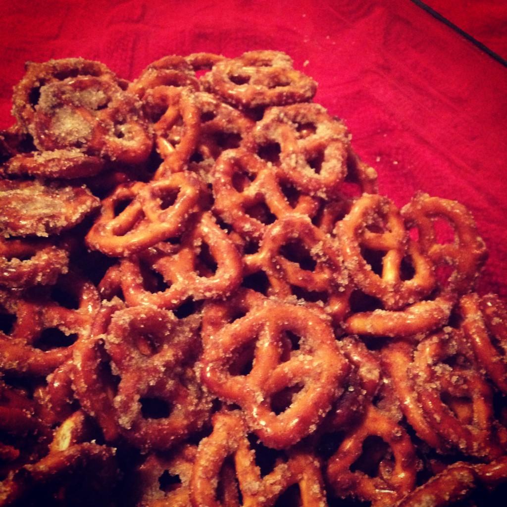 Cinnamon Sugar Pretzels by AL blogger My Life Well Loved
