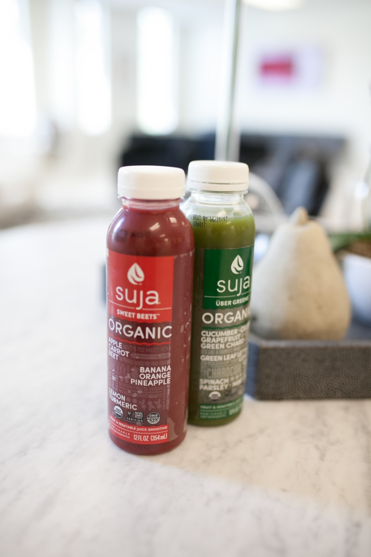 Juicing: Benefits, FAQ, how to juice, what to juice and more from Heather Brown of MyLifeWellLoved.com // Suja Juice