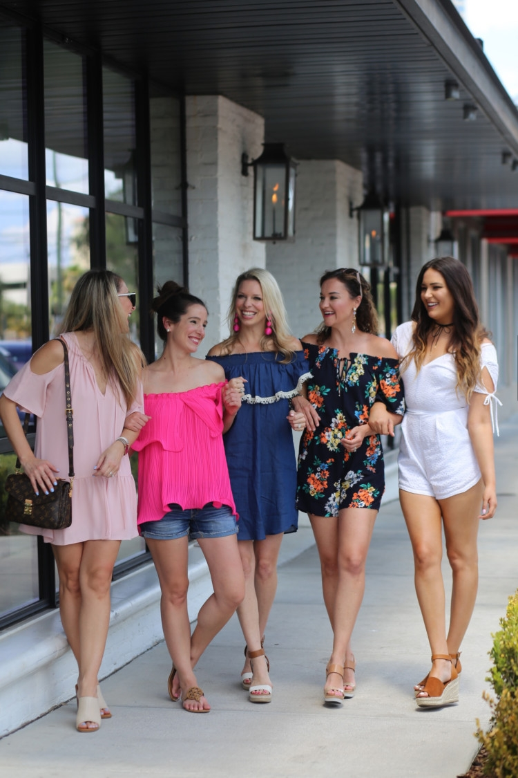 Things to see and do in Tampa Florida: The Oxford Exchange and many other must see sights + mom style floral romper from blogger Heather Brown of MyLifeWellLoved.com // fashion bloggers // Tampa bloggers