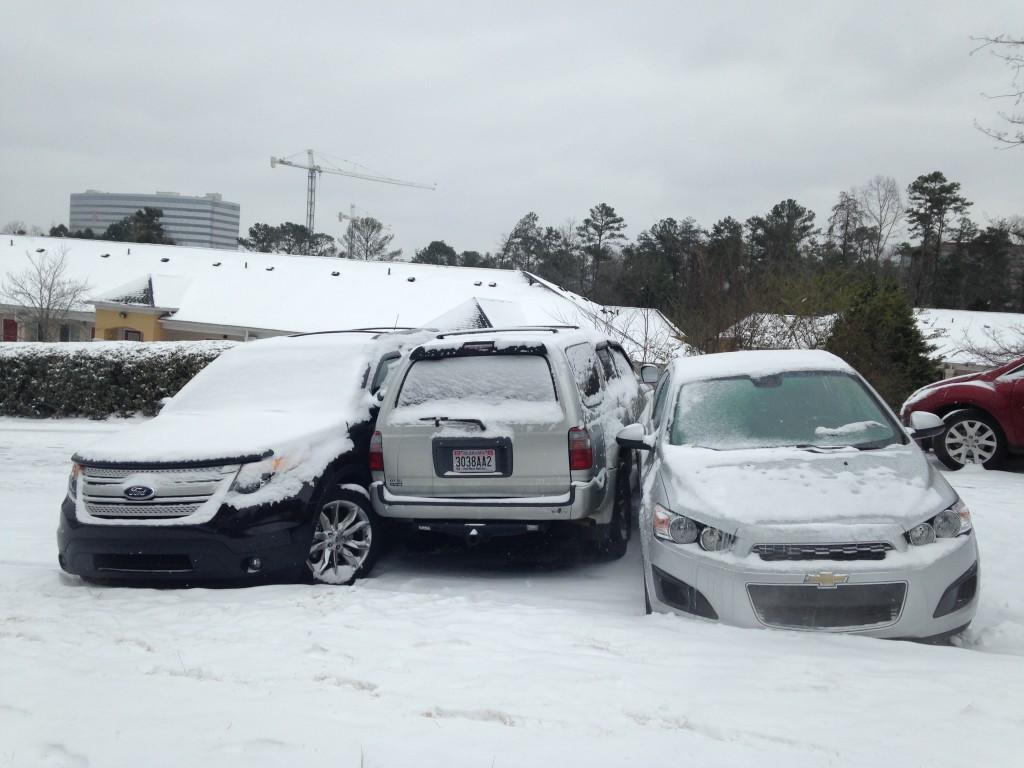 Birmingham Snow Storm