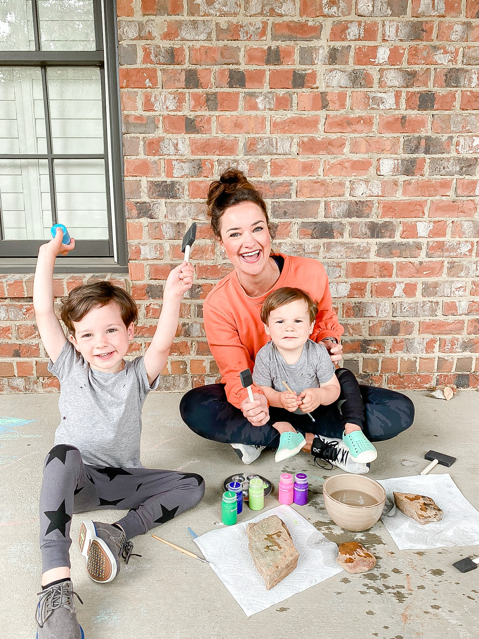 Rock Painting For Kids by Alabama Mommy + Lifestyle blogger, Heather Brown // My Life Well Loved