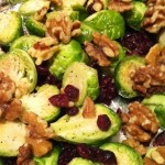 Cranberry Walnut Brussel Sprouts