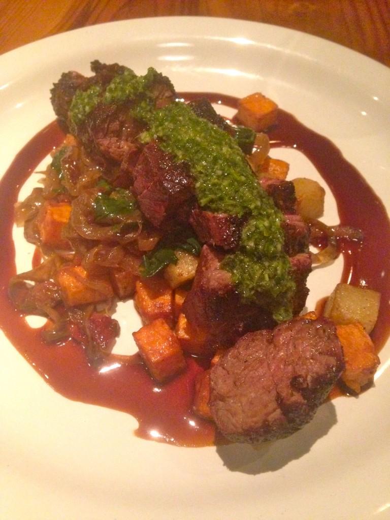 Steak at FoodBar